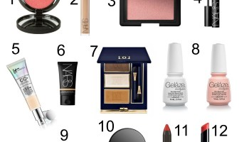 Fashion over 50: My Fave Cosmetics