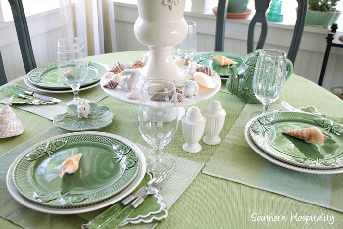 summer table green016