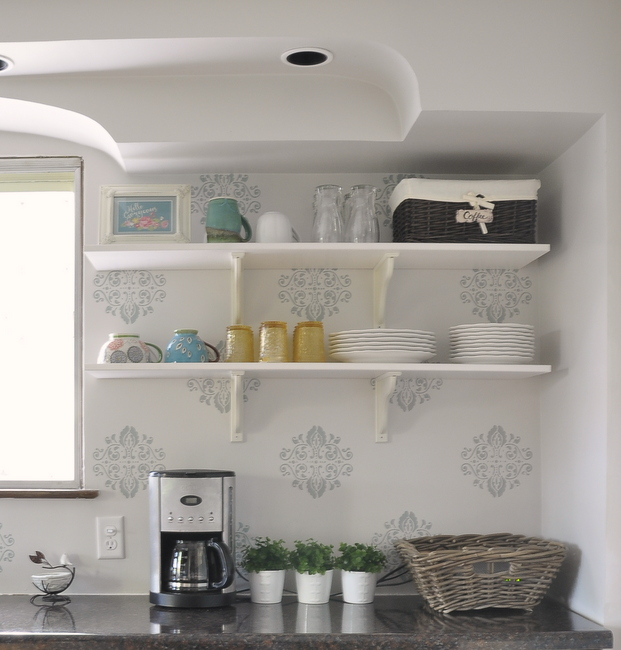 10 Kitchens With Open Shelving: Feature Friday: Whimsical Blue Living