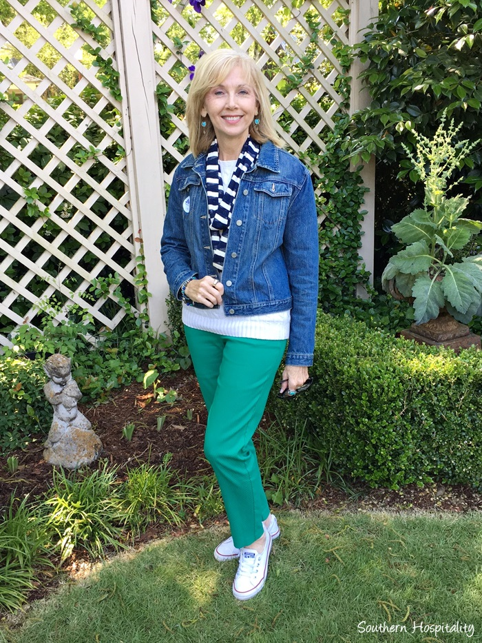 a6a7e9921d3 Fashion over 50  Casual Spring Outings - Southern Hospitality