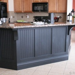 Beadboard Kitchen Island Pull Out Shelves For Cabinets Adding To The Bar Southern Hospitality Cassity S Blog Remodelaholic And This Makeover Once We Saw Picture That Was Our Inspiration Photo Off Work He Went