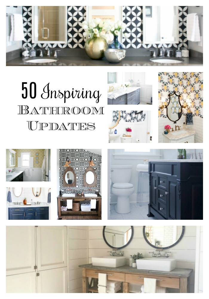 50 inspiring bathroom updates southern hospitality - Bathroom Updates