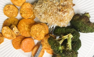 Panko Oven Chicken