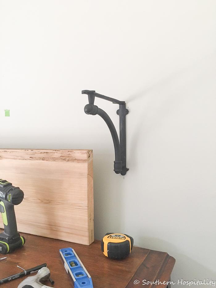 Open Kitchen Shelves Installation - Southern Hospitality