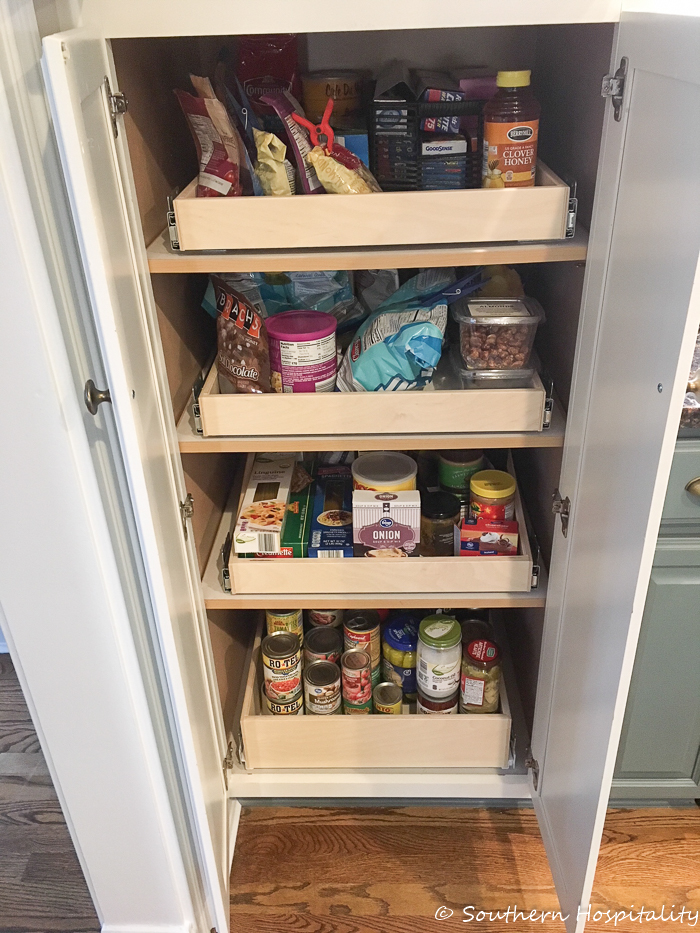 installing sliding shelves in a pantry southern hospitality rh southernhospitalityblog com sliding pantry shelves home depot sliding pantry shelves diy