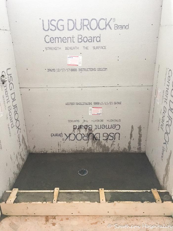 Guest Bath Renovation Progress