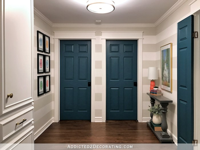 Laundry Closet Door Ideas Hallways