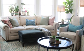 Family Room Refresh {+ Arhaus $500 Giveaway!}