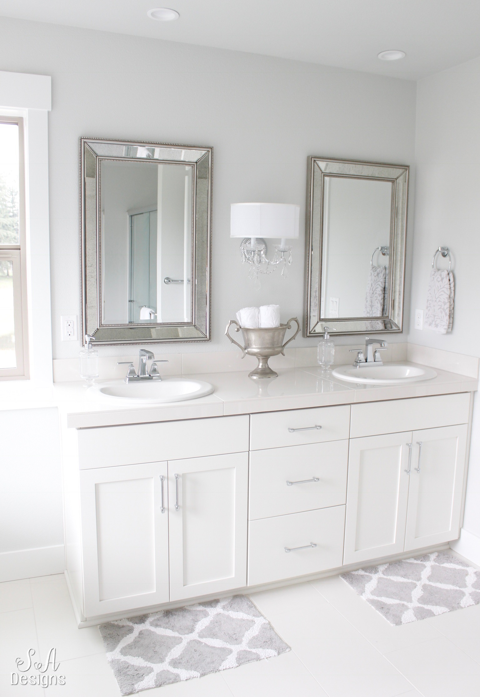 House Tour Master Bath: Feature Friday: Summer Adams Designs
