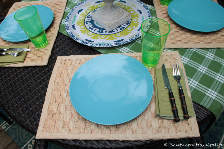 Summer Blues and Greens