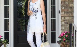 Fashion over 50:  White Casual Wear