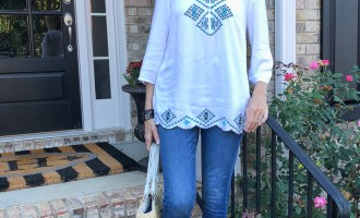 Fashion over 50:  Jeans and Leopard