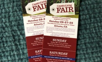 Country Living Fair Atlanta Tickets {Giveaway}