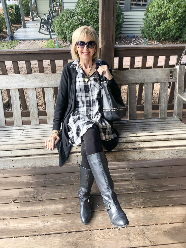 d9cac7c53ff Fashion over 50  Dresses and Boots - Southern Hospitality