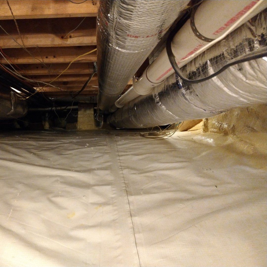 Duct Sealing and Crawlspace Encapsulation - Gallery
