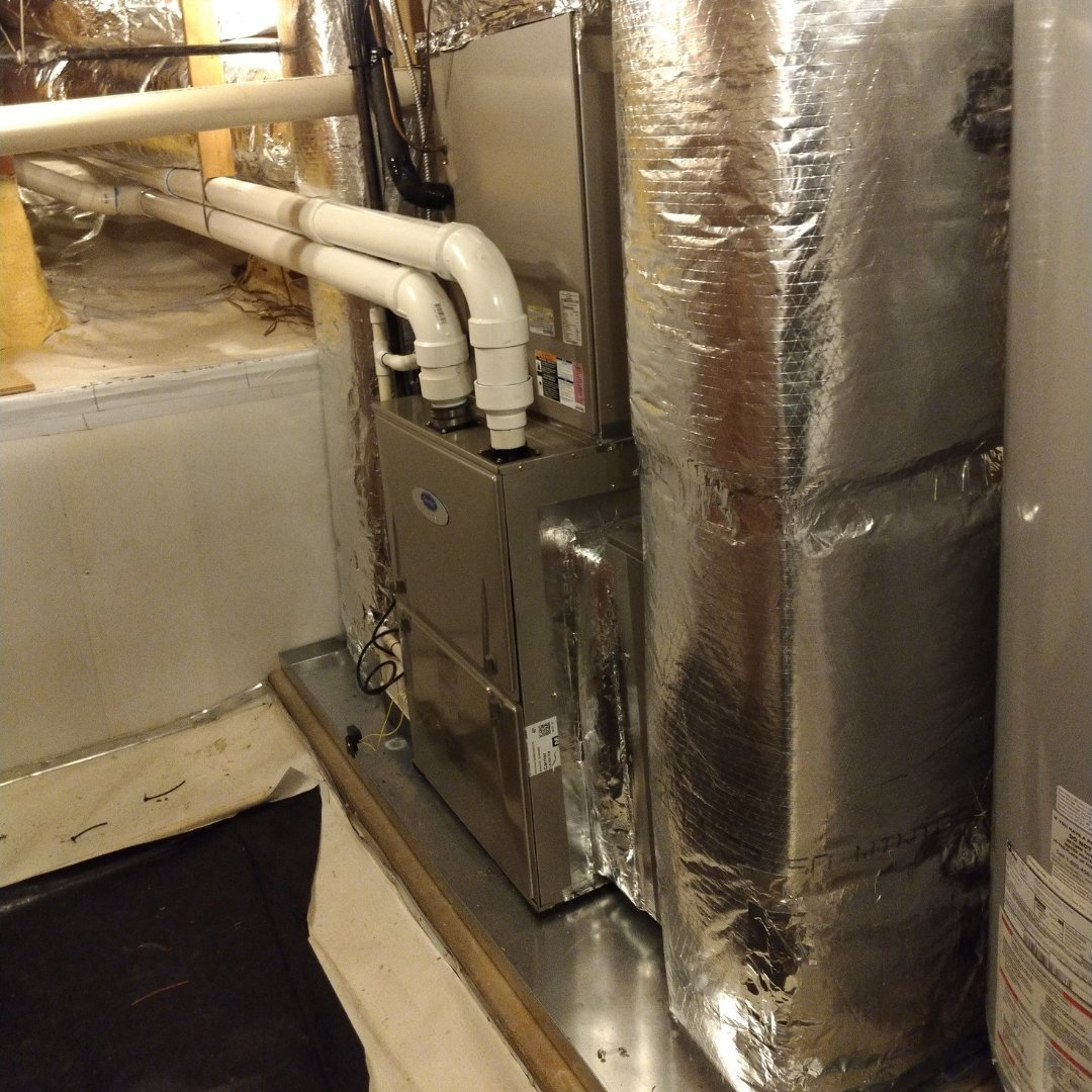 Furnace and Duct Sealing - Gallery