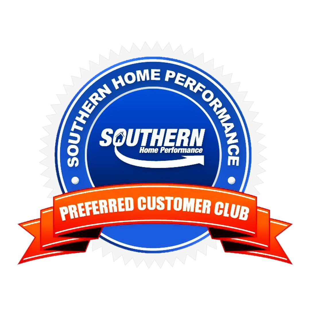 Southern Home Performance Preferred Customer Club Badge