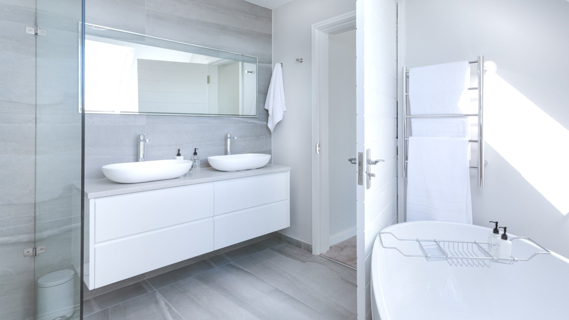 Bathroom in Zoned House