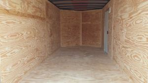 storage trailer inside