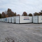 New shipment of portable storage containers