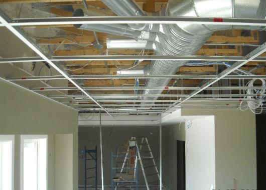 Standard Tbar Ceilings  Southern Interiors LTD