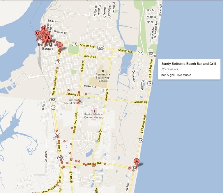 Ocean Park Fernandina Beach Fl Address