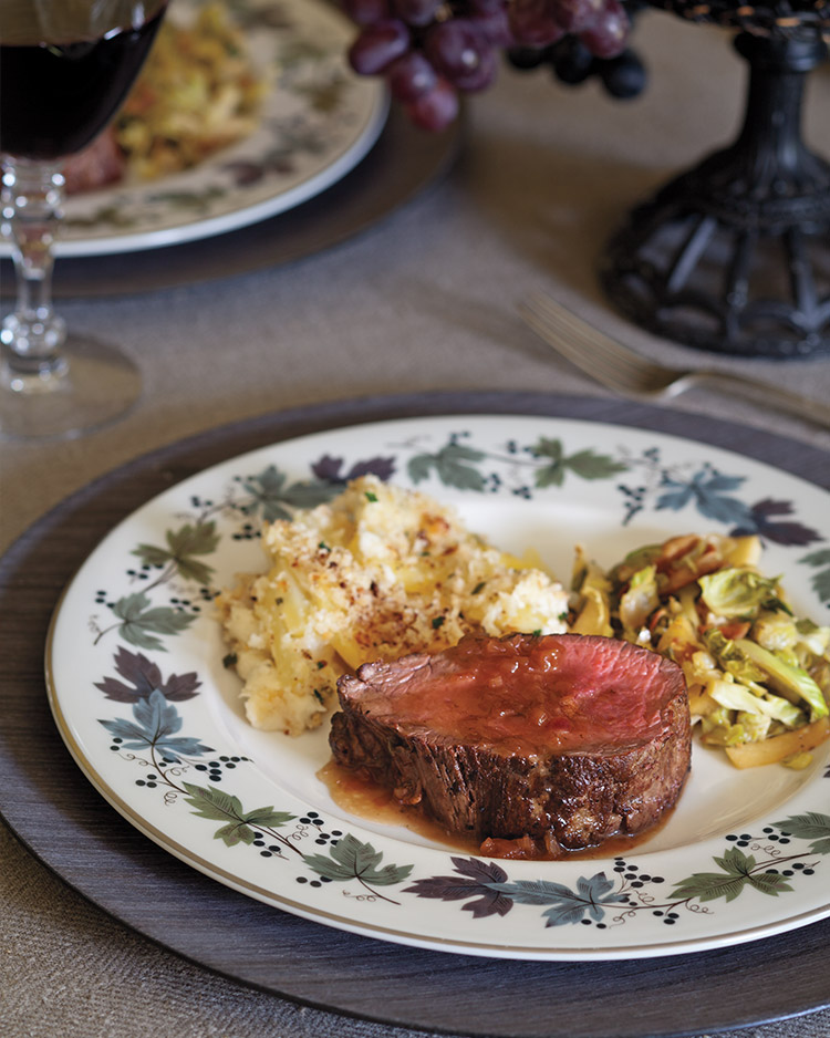 Beef Tenderloin Medallions with Madeira Sauce - Southern
