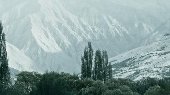 Branch Burn, Cardrona Valley and snow