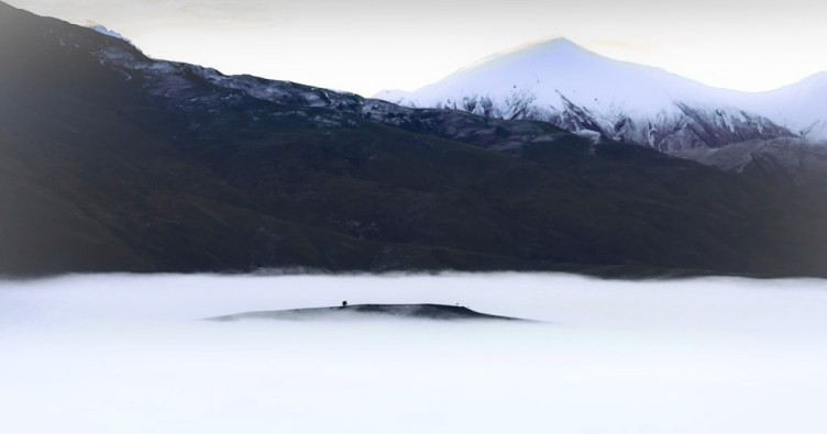 Winter Temerature Inversion in the Cardrona Valley