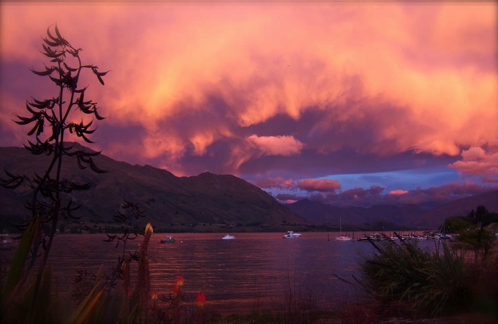 The many moods of Lake Wanaka