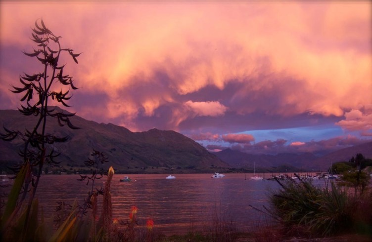 Many moods of Lake Wanaka