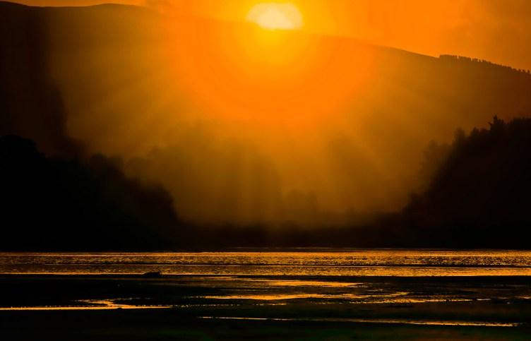 Catlins Estuary sunset
