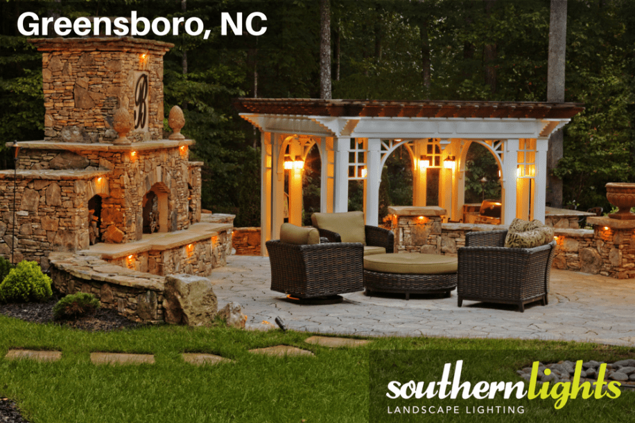 Patio and Pergola Lighting  Southern Lights Of NC