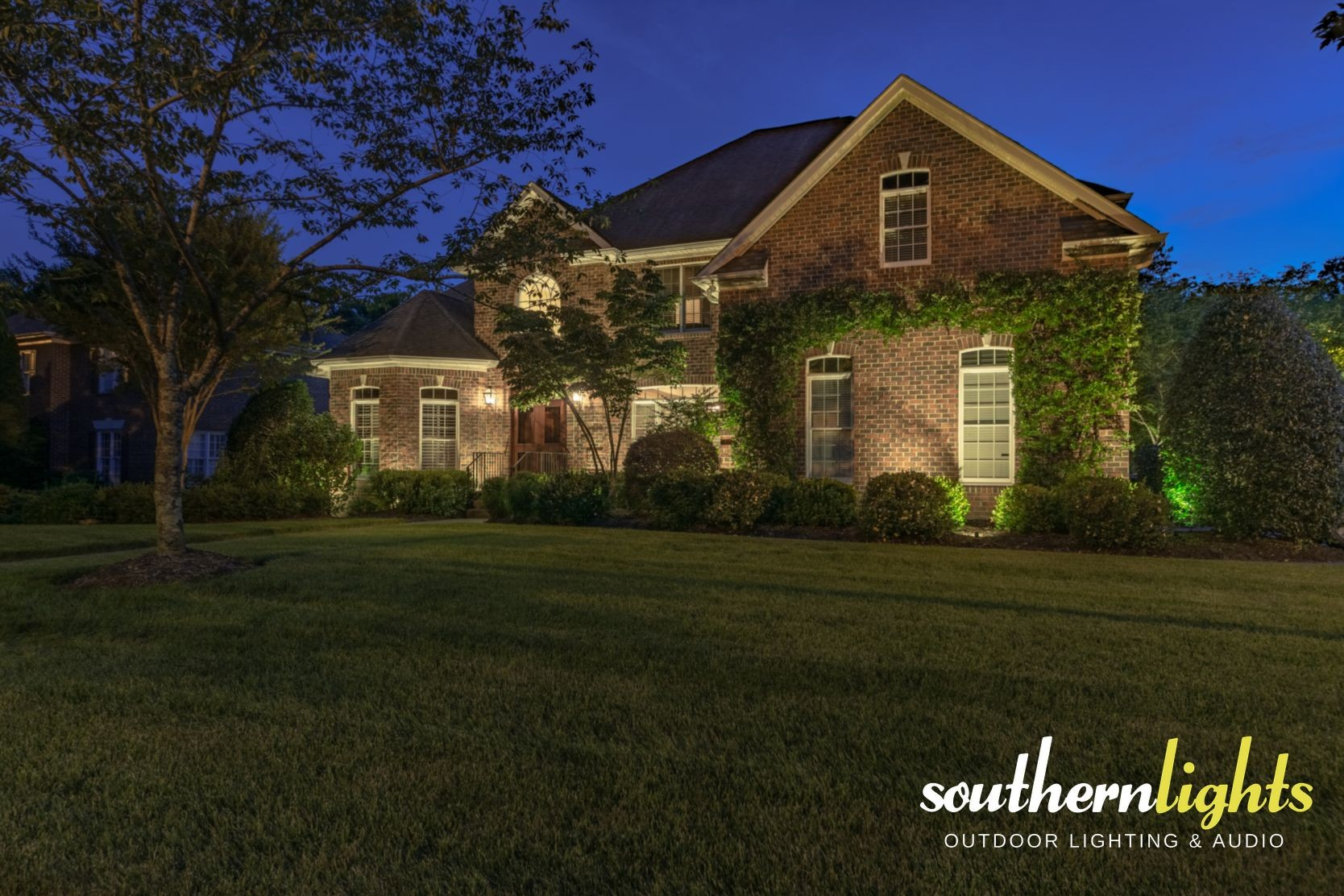 landscape lighting creations in