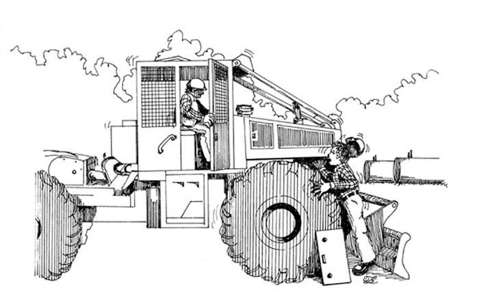 Log Skidder Clip Art Sketch Coloring Page