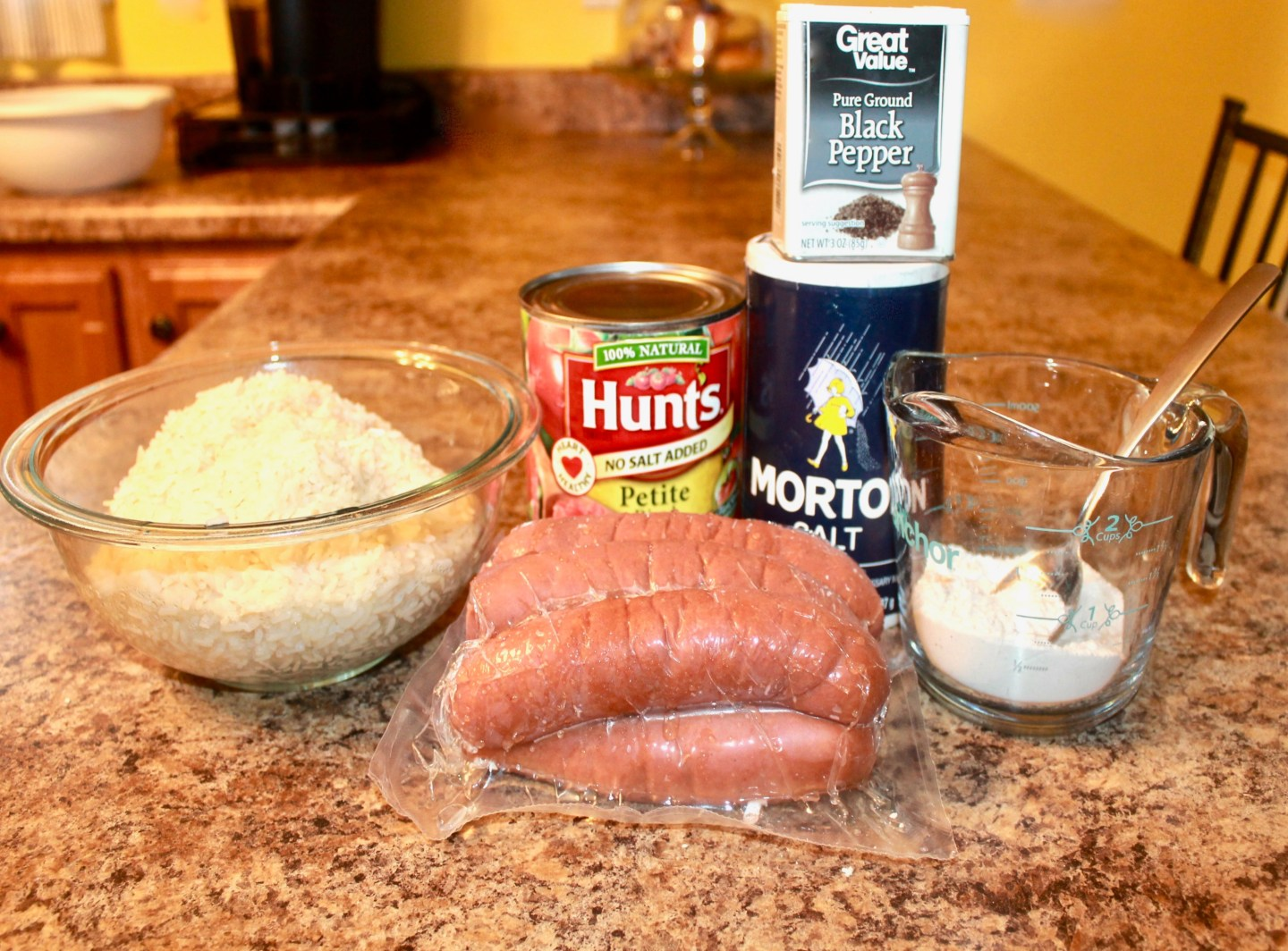 Southern Recipes: Tomato, rice, and sausage