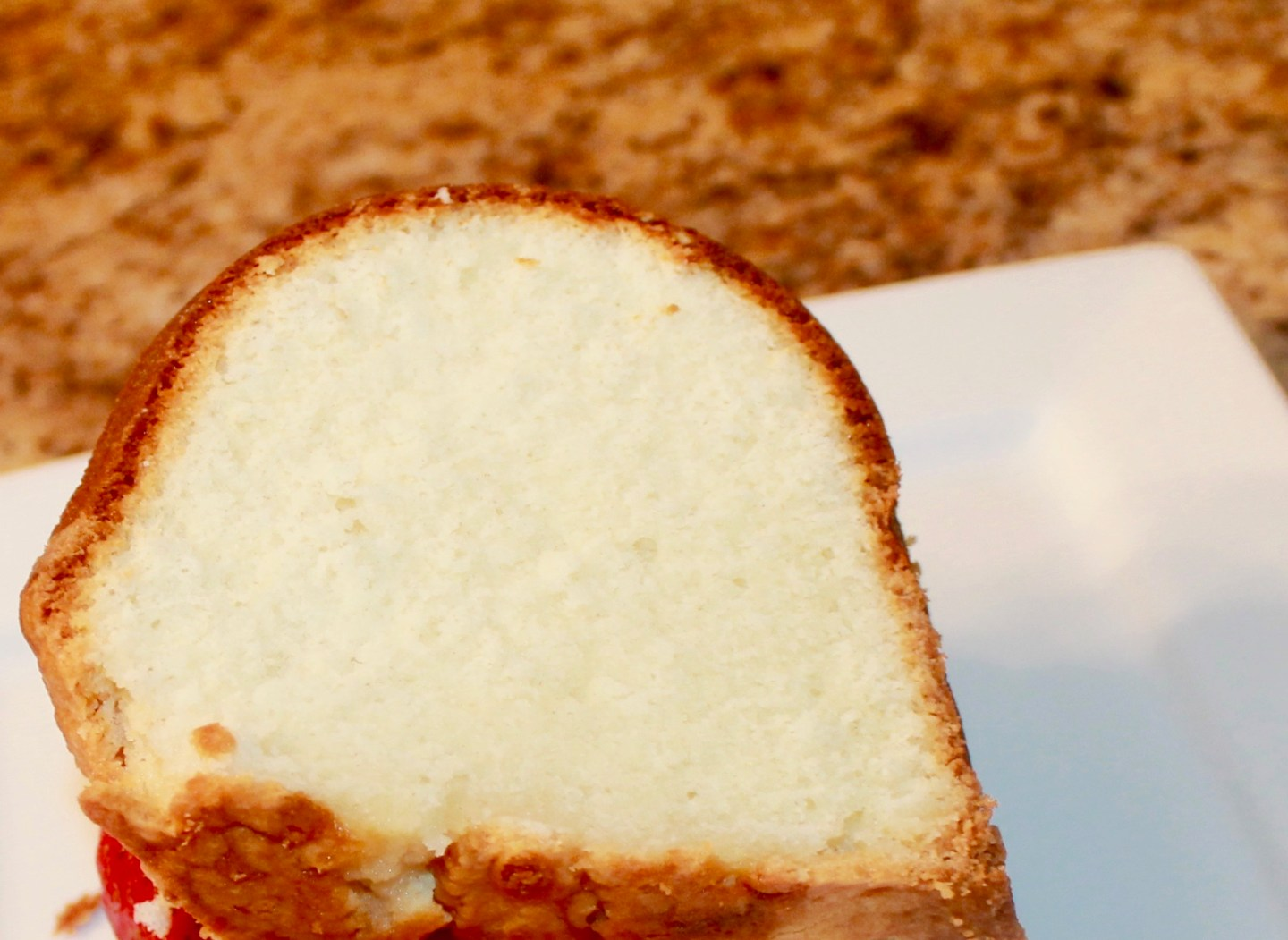 Pound cake from scratch
