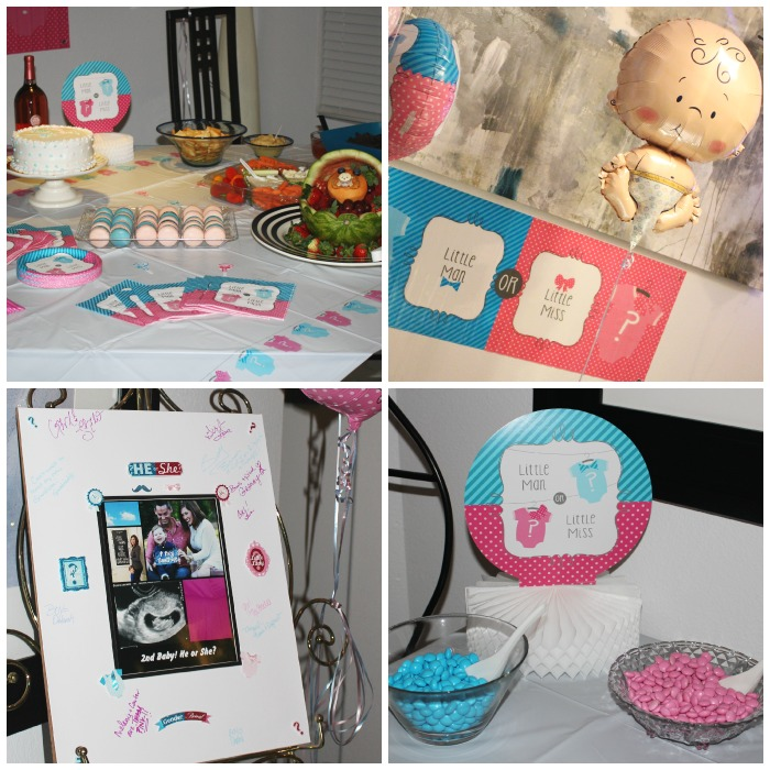 Little Man or Little Miss Gender Reveal Party - Southern Made Blog