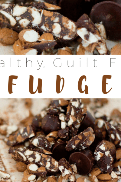 Healthy, Guilt Free Fudge | Southern Made Blog | This yummy fudge doesn't last long. With only 3 ingredients that are gluten free and dairy free, this makes for one easy and delicious dessert.