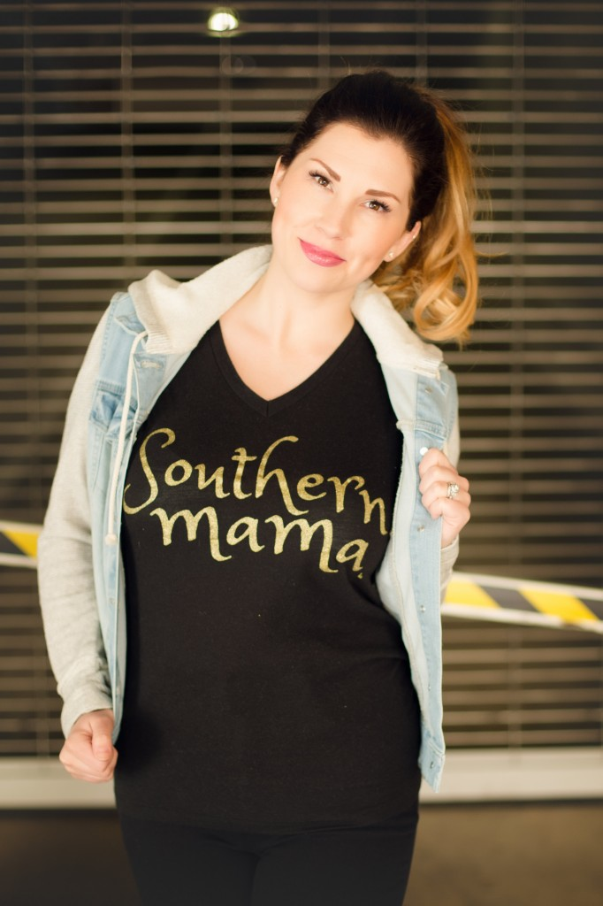 What to Wear for a Playdate   Southern Made Blog - My mama must haves are cute tees, converse sneakers, and comfy jeans. Throw on a jean jacket and you're playdate ready. @target @lovedbyhannahandeli @converse