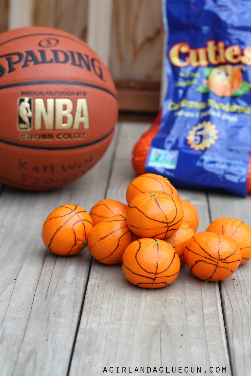 Basketball Treats For Girls