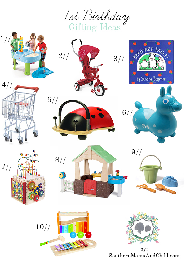 1st Birthday Gifting Ideas