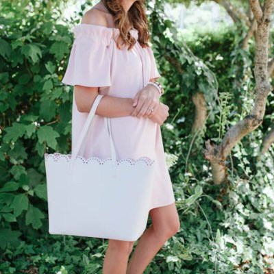 The Perfect Romantic Blush Dress