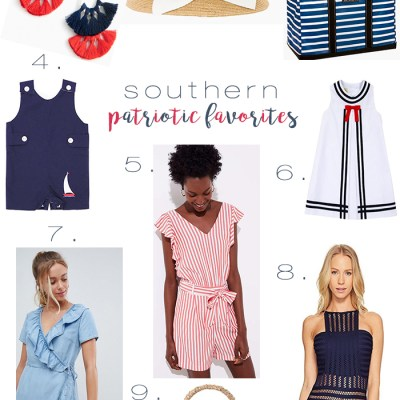 Southern Patriotic Favorites for Memorial Day