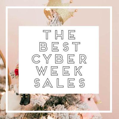 The Best Cyber Week Sales 2018