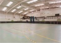 Transforming a sports hall ...