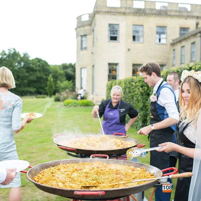 Smallpiece Caterer paella