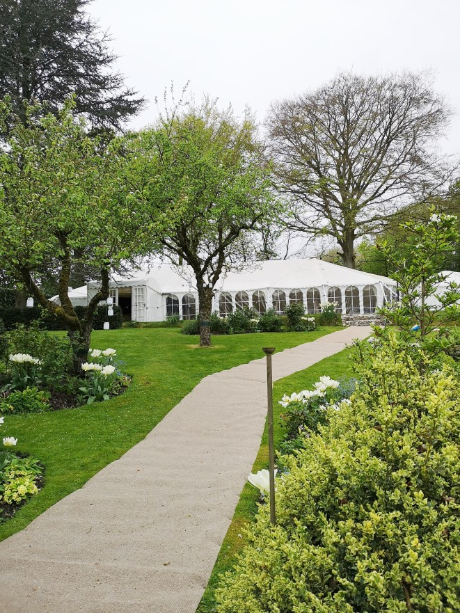 Stockbridge Wedding in our traditional style marquee