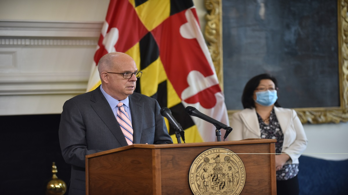 """Governor Hogan Announces """"No Arm Left Behind"""" Initiatives to Get Vaccines To Every Marylander Who Wants One"""