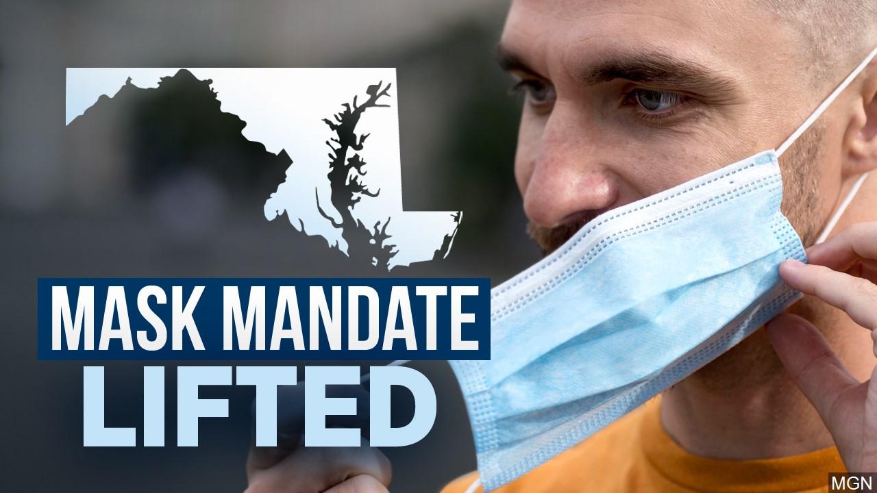 A Breath of Fresh Air! Hogan ends Maryland Mask Mandate